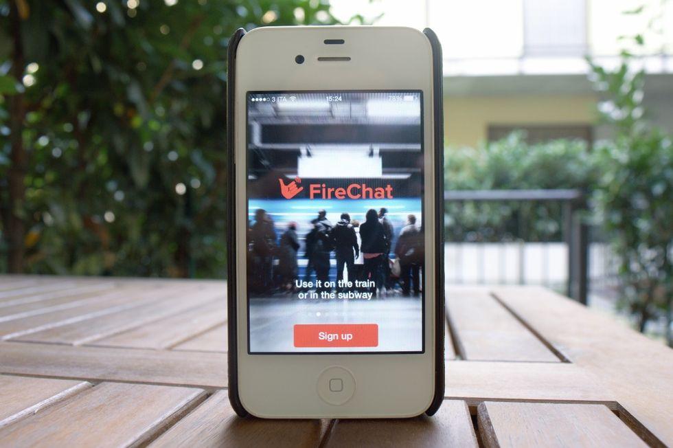 FireChat: cos'è e come funziona