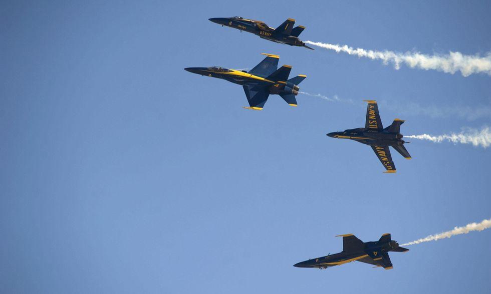 Foto dal Miramar Air Show di San Diego