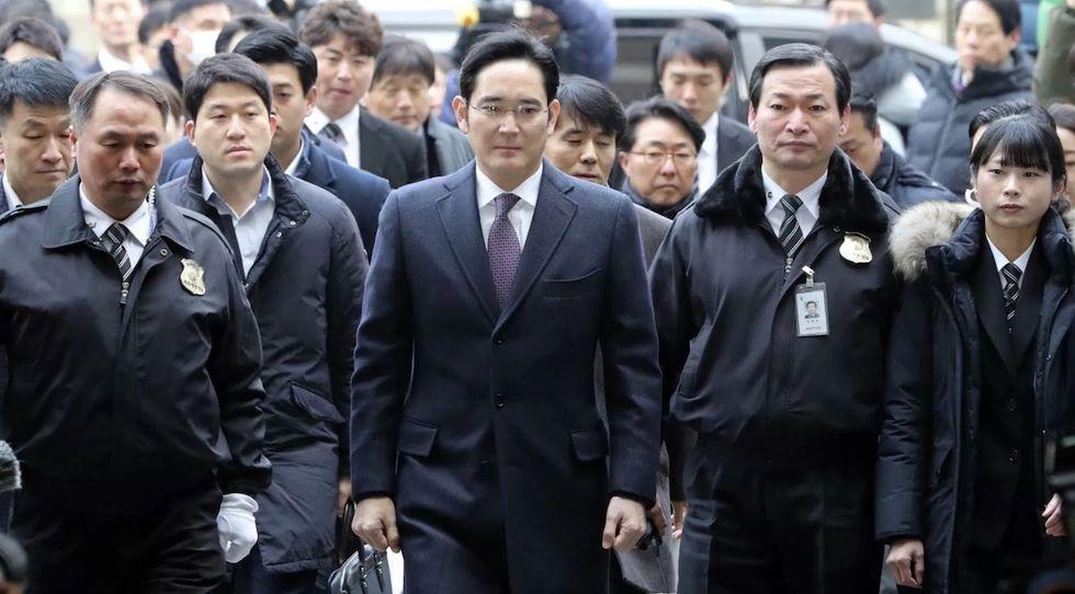 Perché il vice presidente di Samsung è stato liberato