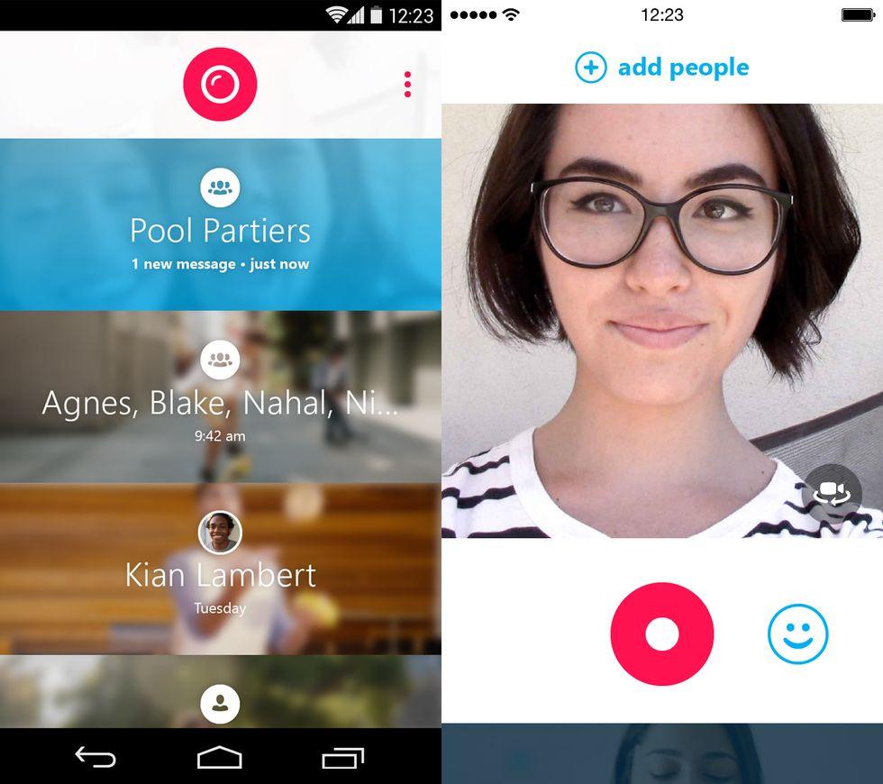 Skype Qik, cos'ha in più (e in meno) rispetto a WhatsApp