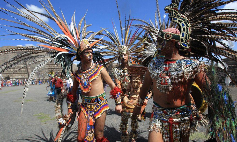La cerimonia del Fuoco Nuovo in Messico