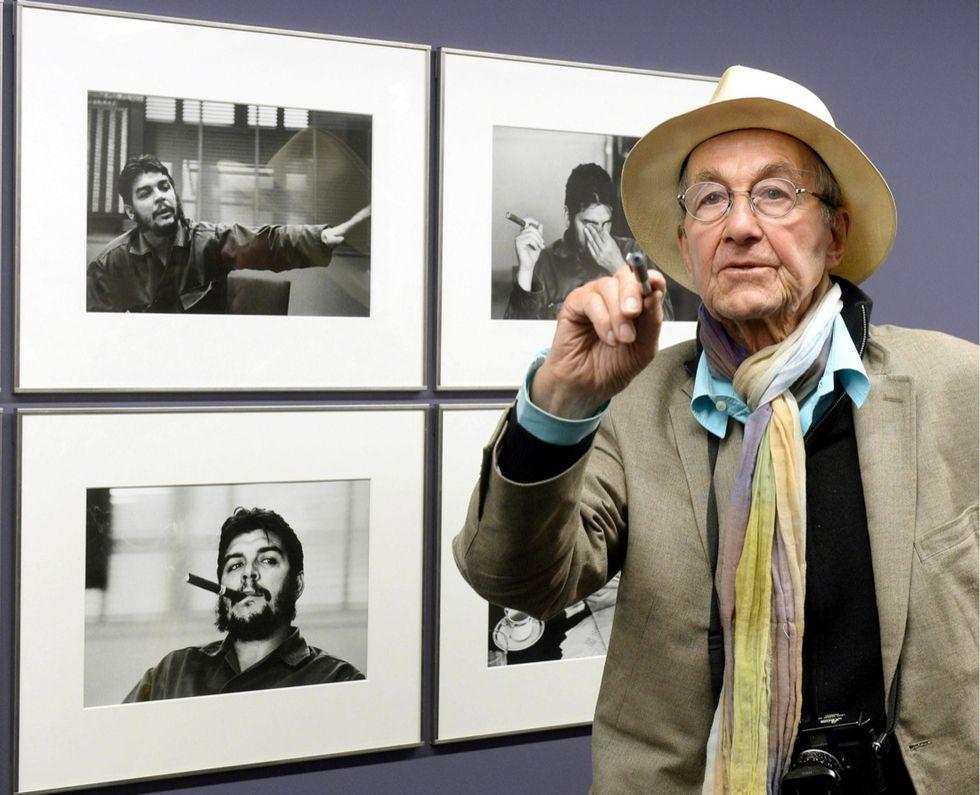 """Morto René Burri, il fotografo del """"Che"""""""