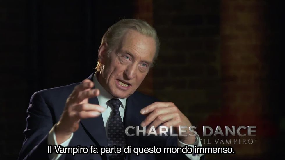 Dracula Untold: Luke Evans e Charles Dance