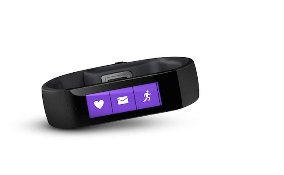 Microsoft Band: il dispositivo dedicato al fitness