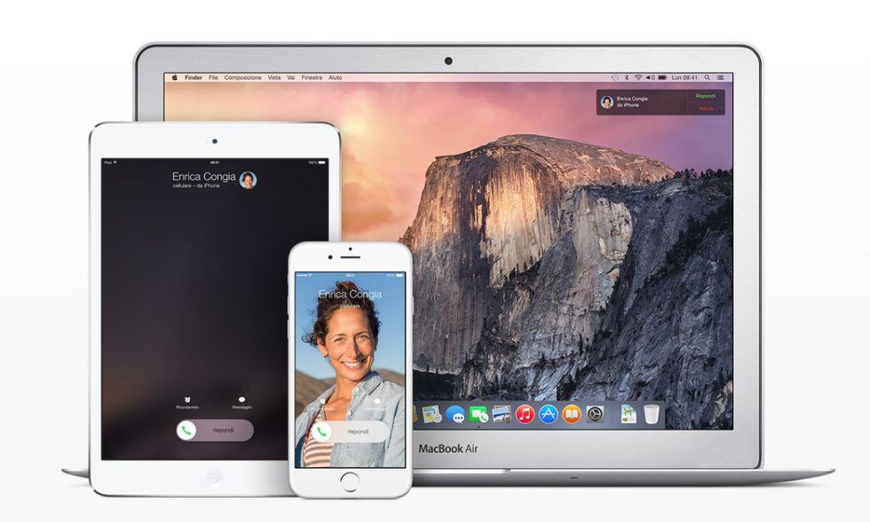 Apple Continuity, ecco come funziona