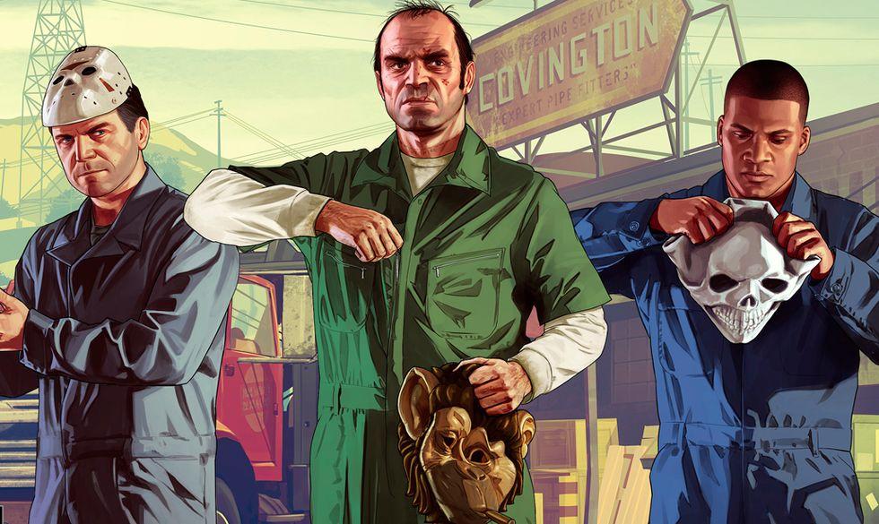 Grand Theft Auto 5: PS3 vs PS4 - Video