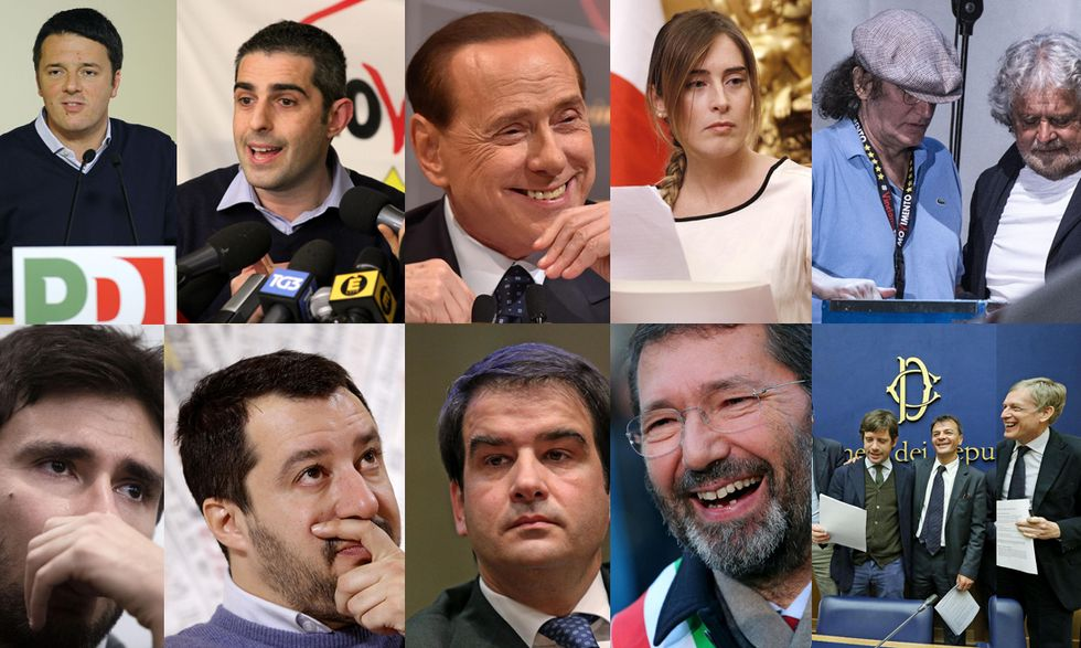 I 10 politici più importanti del 2014