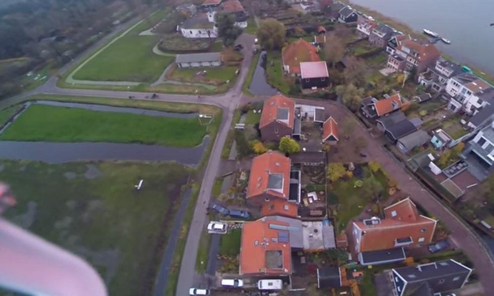 SOS drone, il salvataggio è in extremis