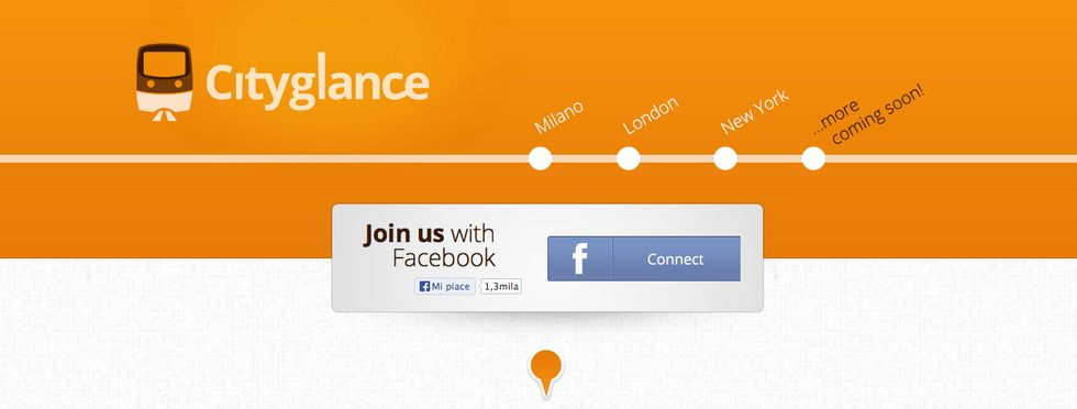 Cityglance, the first transport social network