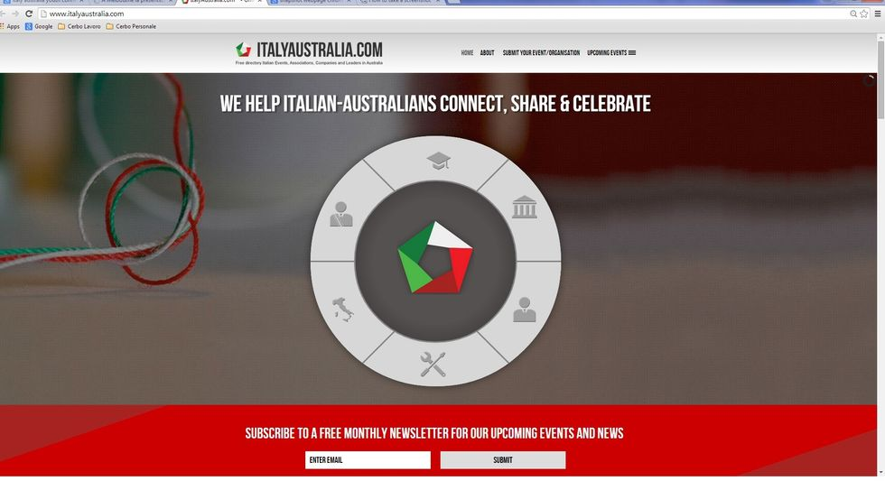 A virtual gathering place for young Italians in Australia