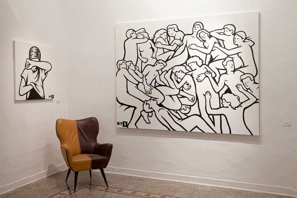 The Italian Artist MP5 conquers the international scene of alternative art