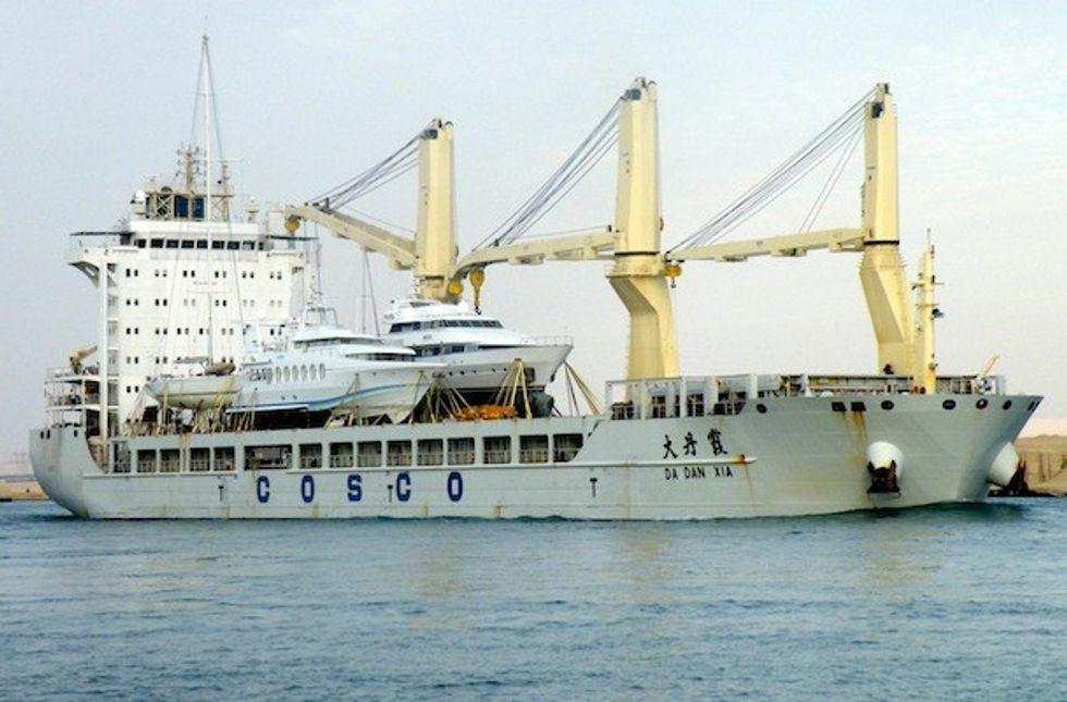 Cina-Cuba: una nave carica di armi fermata in Colombia