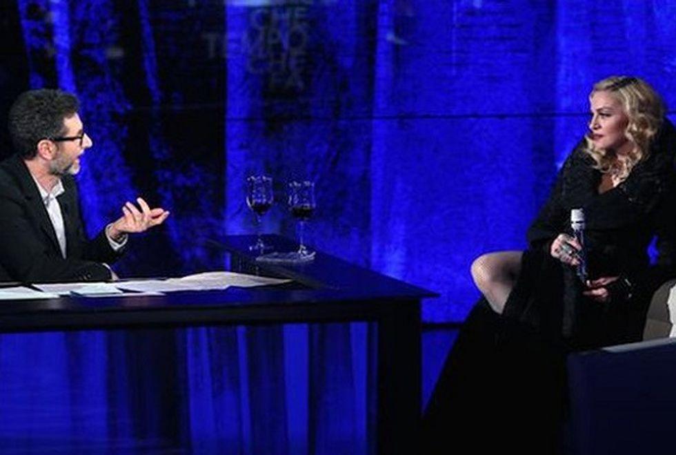 Ascolti 8/3: Madonna porta Fazio oltre i 5,2 milioni di spettatori