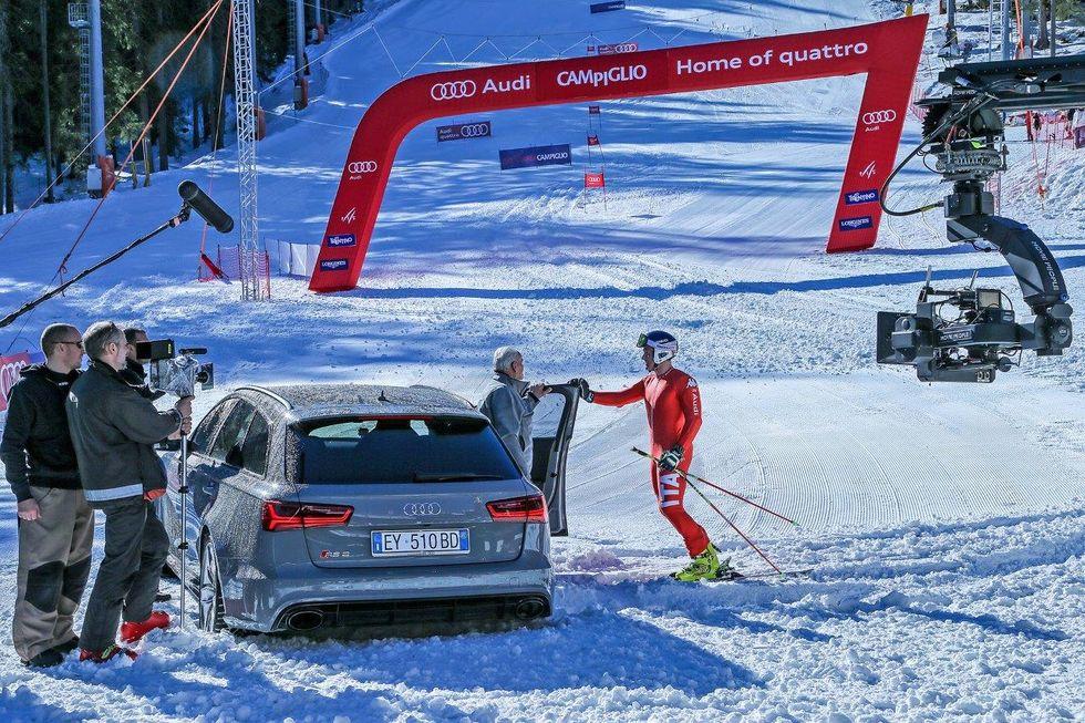On air con Audi Italia per una campagna internazionale social e TV