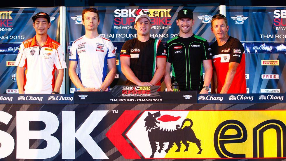 Superbike 2015: secondo round in Thailandia