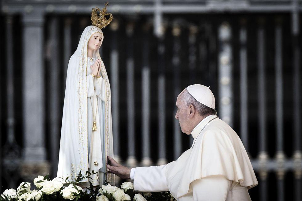 "Papa Francesco: ""No ai sedicenti veggenti"""