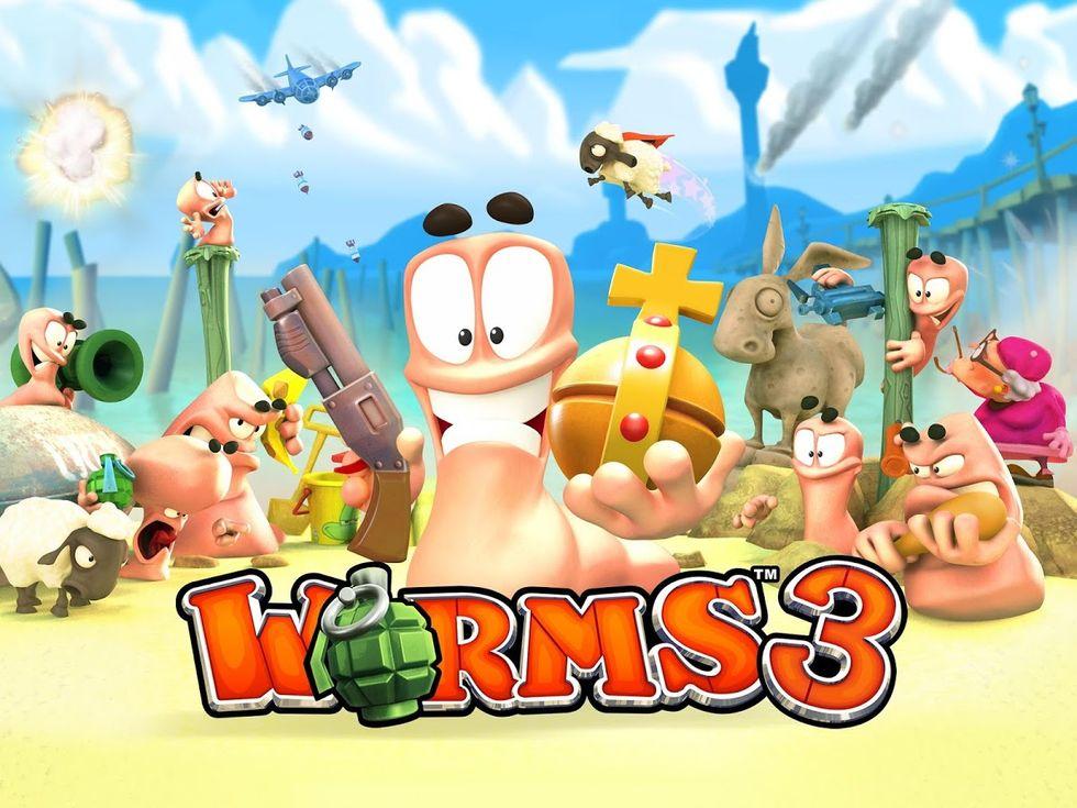 Worms 3, 5 trucchi per vincere + 1 video