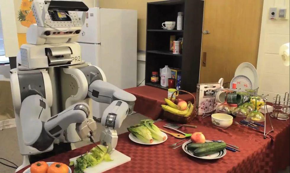 I robot faranno concorrenza ai cuochi, grazie al machine learning
