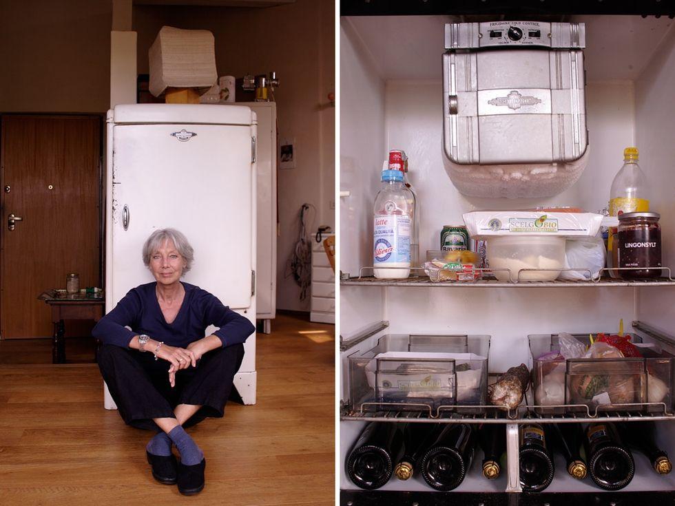 Il frigorifero come specchio di uno stile di vita