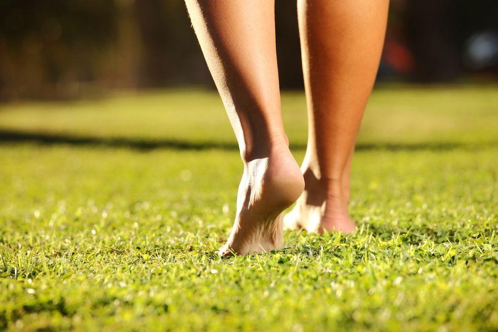 Il Bare Footing fa bene alla salute