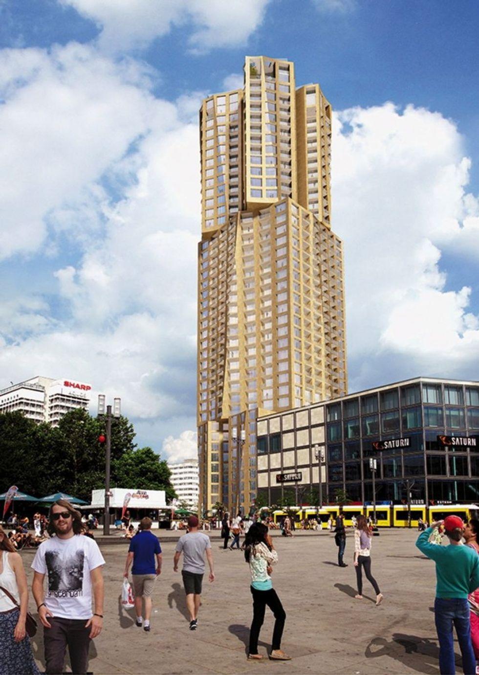 Frank Gehry costruisce un grattacielo ad Alexanderplatz. La Berlino che fu sempre più cancellata