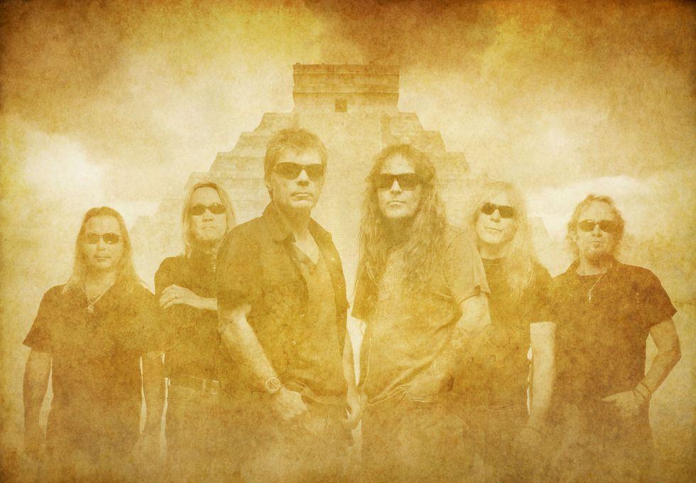 Iron Maiden, il trionfo di The Book of Souls - Intervista a Janick Gers