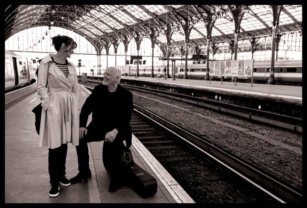 David Gilmour e Polly Samson: parole, musica e una vita insieme
