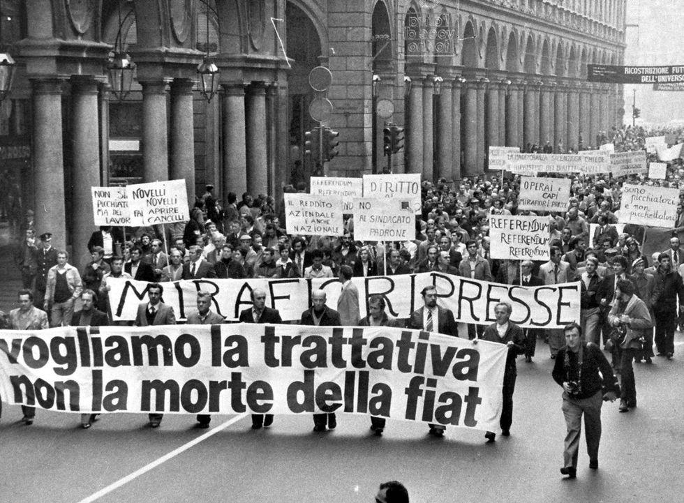 Fiat: 35 anni fa la marcia del 40mila