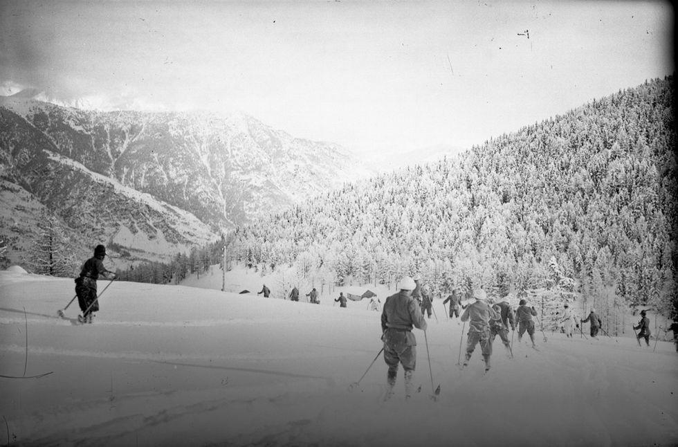 """La Grande Guerra del """"conte sciatore"""""""