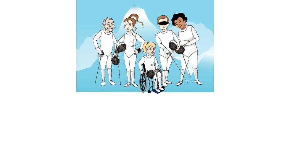 """""""Scherma for all"""": lo sport per una disabilità vincente"""