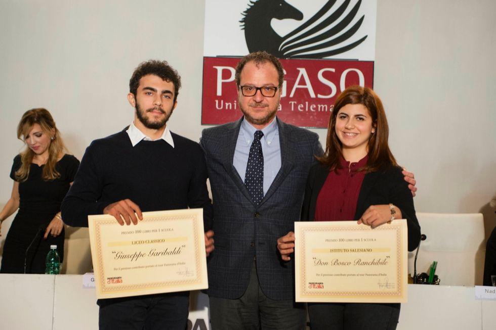 400 libri a quattro scuole di Palermo