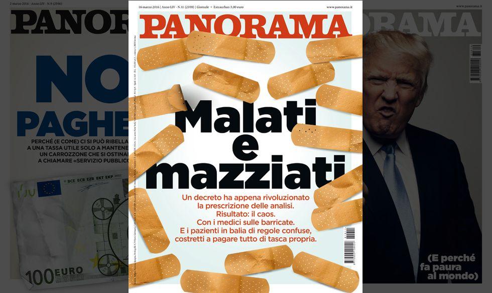 Analisi mediche: Italiani malati e mazziati