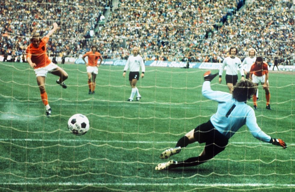 Johan Cruijff e la magica Olanda dei Mondiali 1974