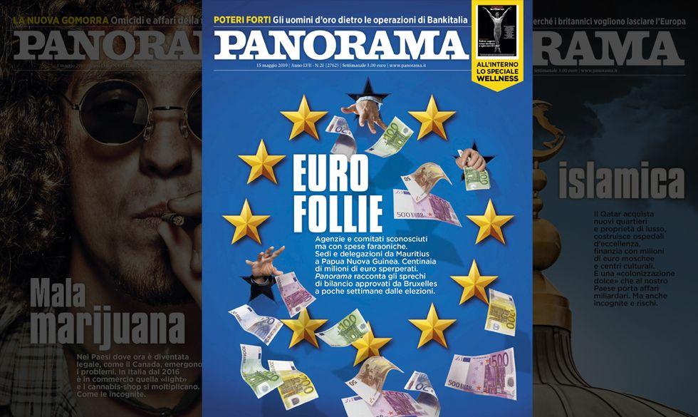 Maurizio Belpietro presenta Panorama in edicola - Euro follie