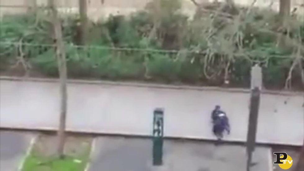 Charlie Hebdo: l'uccisione del poliziotto