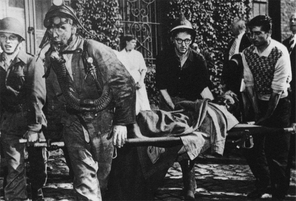 Marcinelle, il ricordo della tragedia nella miniera belga
