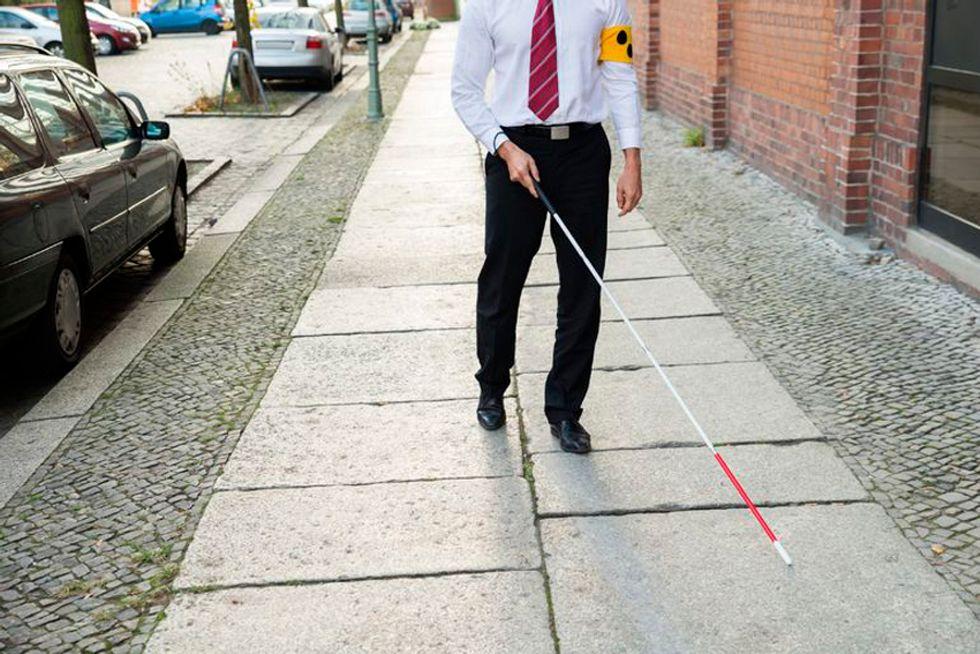 Ecco come lo smartphone diventerà un bastone per ciechi