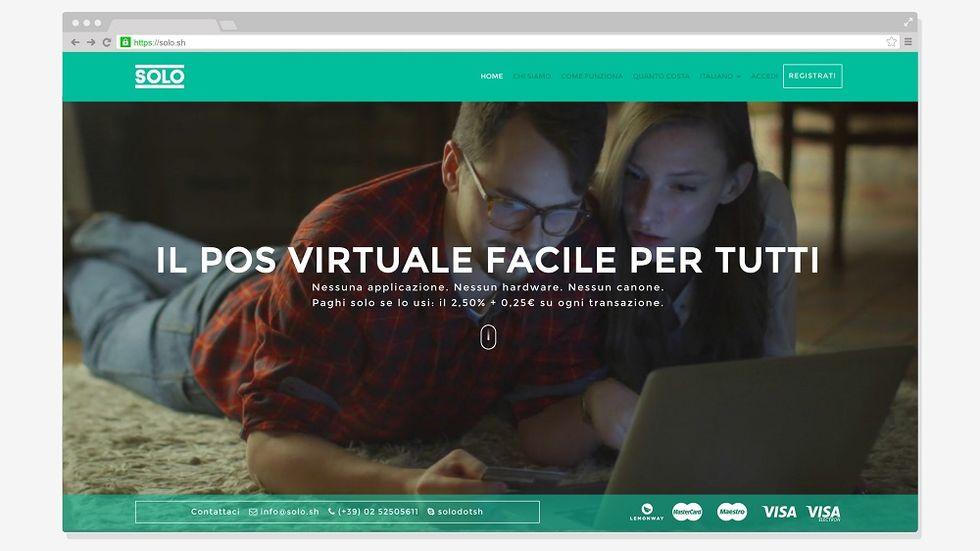 SOLO, the Italian virtual POS