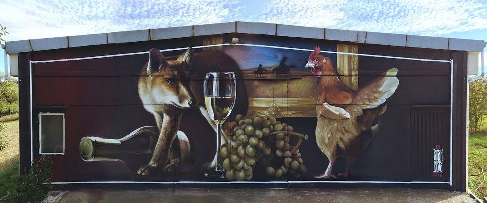 Street Art knocks the door of Italian Factories