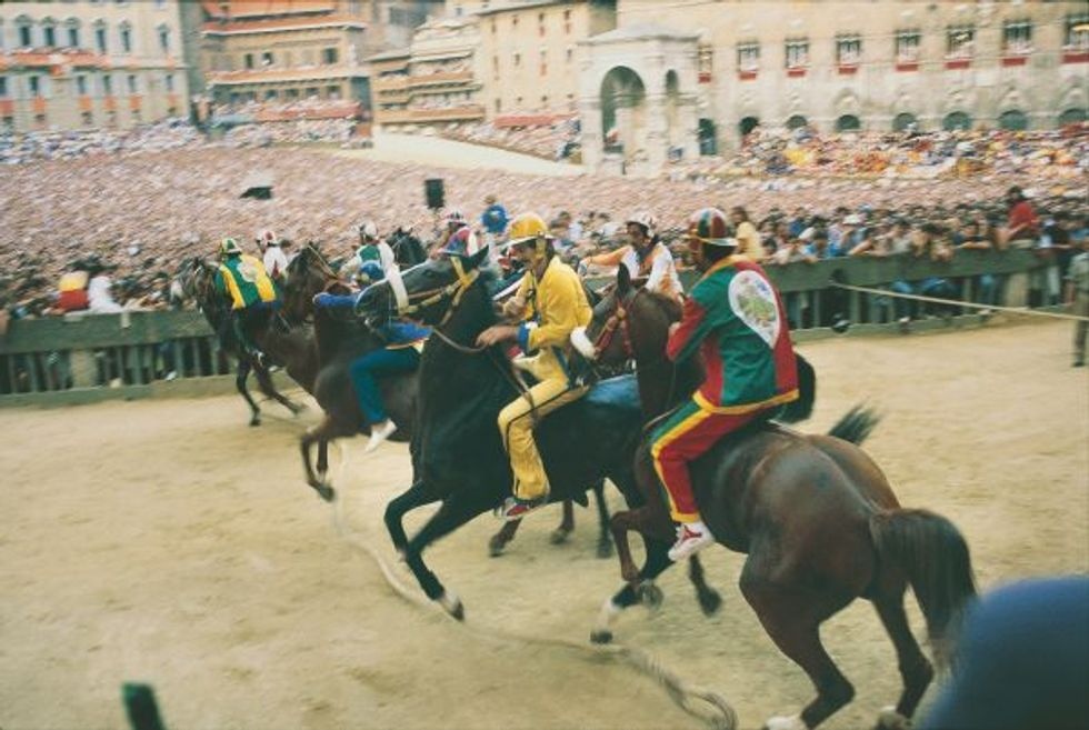 Siena is getting ready for the Palio