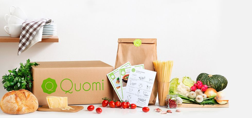Quomi, the Italian app for food shopping and cooking