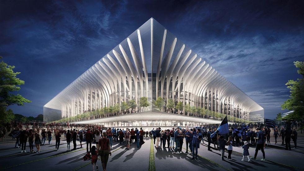 Nuovo stadio Milano, la proposta di Populous per Inter e Milan: la Cattedrale I VIDEO