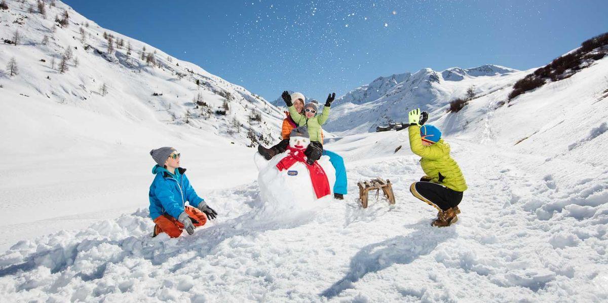 Le migliori opzioni per la vacanza sulla neve con i bambini