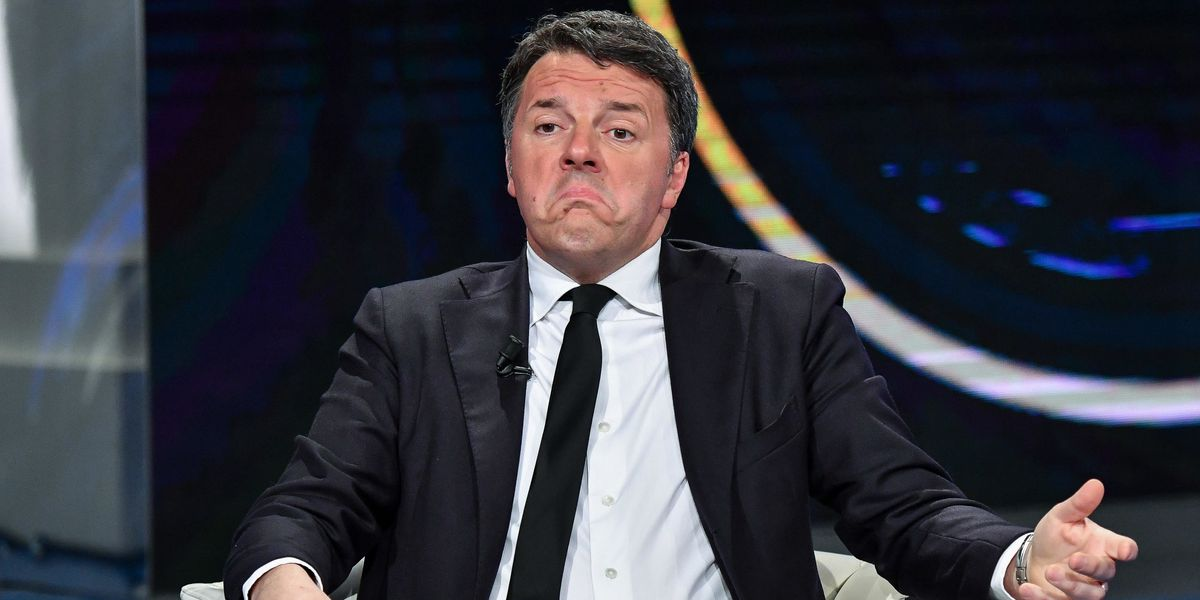 Renzi abbaia e smonta il suo bluff
