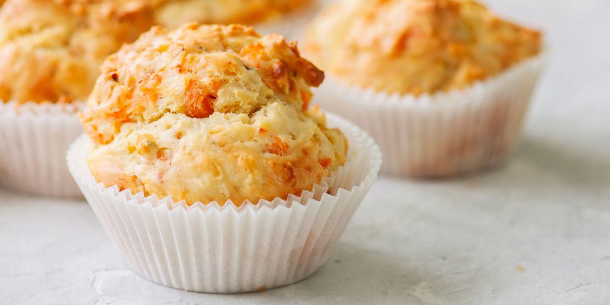 Cuciniamo insieme: muffin al formaggio pomodorini e rosmarino