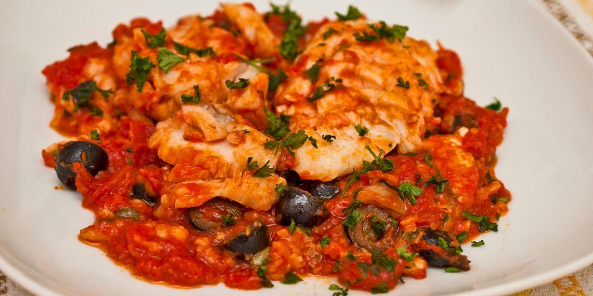 Cuciniamo insieme: Baccalà al sugo con cipolle e olive