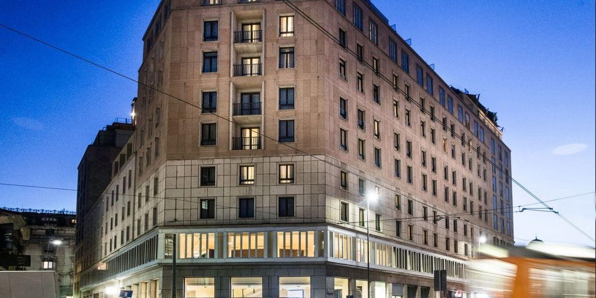 Generali apre le porte del suo hotel milanese al personale sanitario