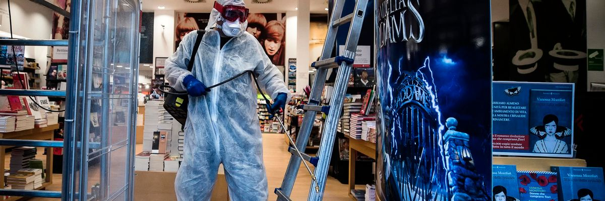Sanificazione, le imprese di pulizia a Conte: senza di noi non c'è «Fase 2»