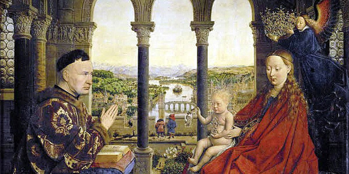 Jan van Eyck: il mondo del Cancelliere Rolin