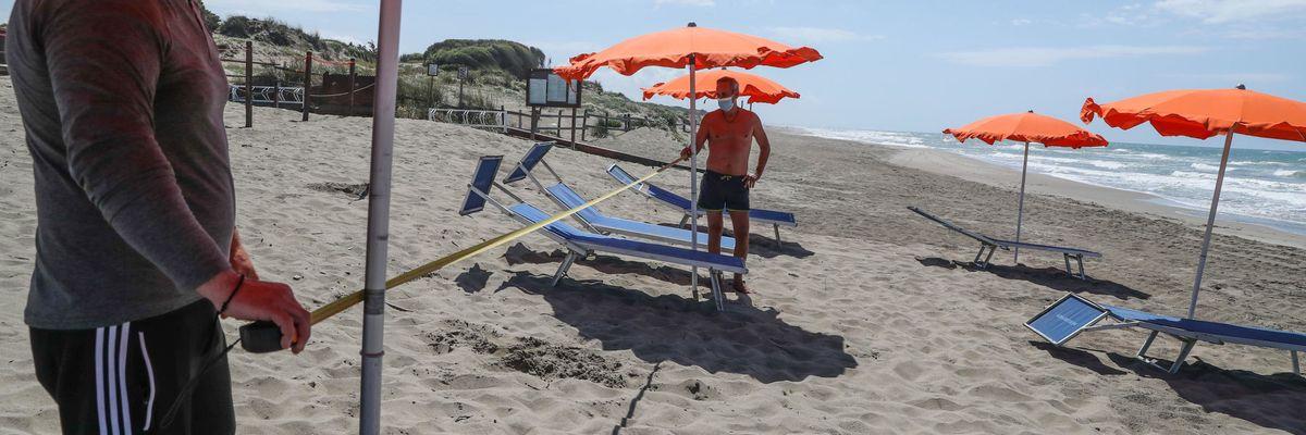 Le regole per le spiagge del 2020 | il documento